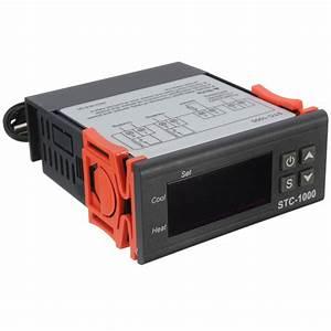 Mini Termostato Digital Sonda Regulador Controlador