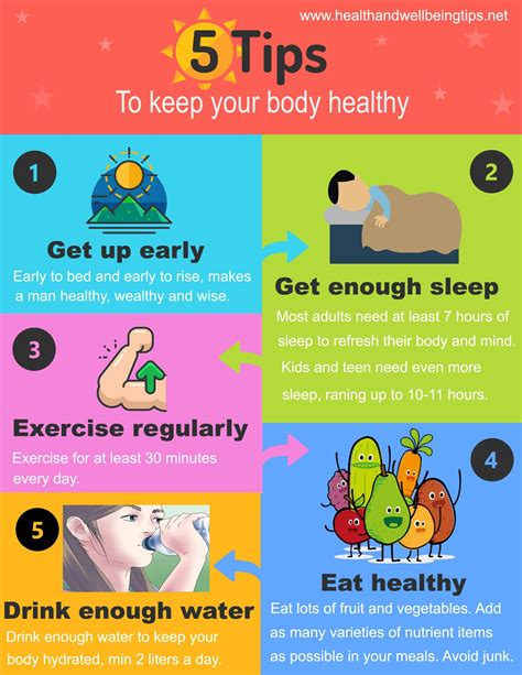 5 Tips to Keep Your Body Healthy conclubiltz