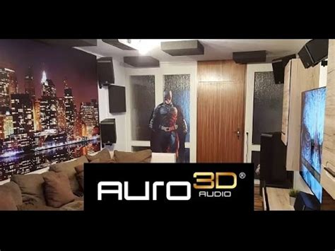 My Auro 3d 111 Home Theater 2016 Youtube