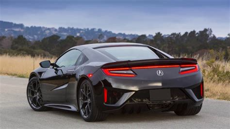2018 acura nsx safety suffers from a poor view to the rear