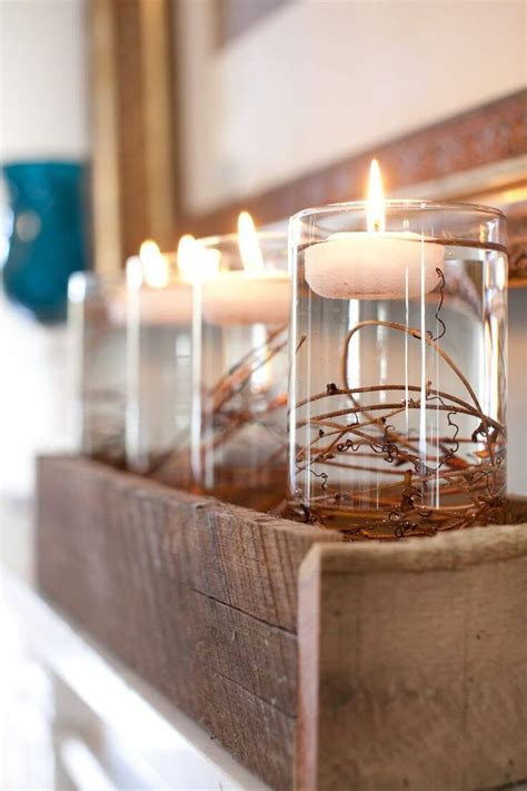 rustic wooden box centerpiece ideas  designs