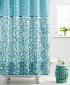 Dena Home Tangier Shower Curtain Everything Turquoise