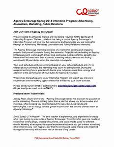 awesome collection of sample cover letters for journalism With cover letter for bloomberg