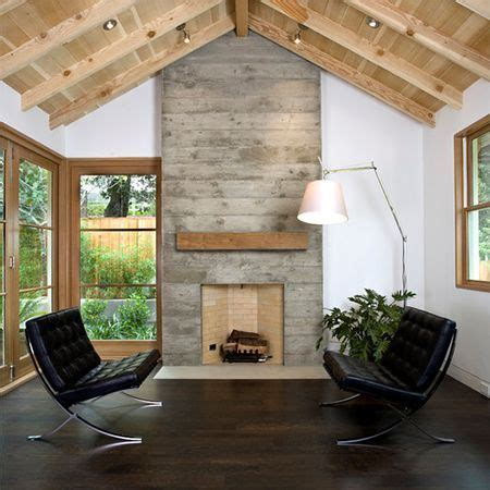 home dzine diy reclaimed style reclaimed wood fireplace 1000 ideas about concrete fireplace on