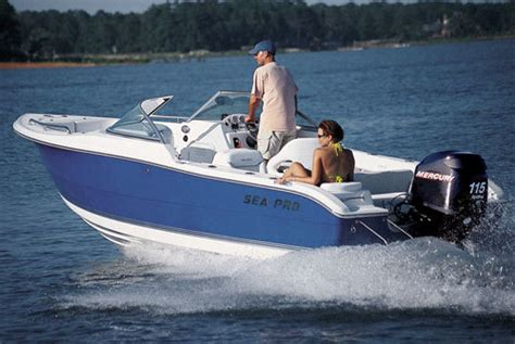 Quality Of Sea Pro Boats by Research Sea Pro Boats 206 Dc Dual Console Boat On Iboats