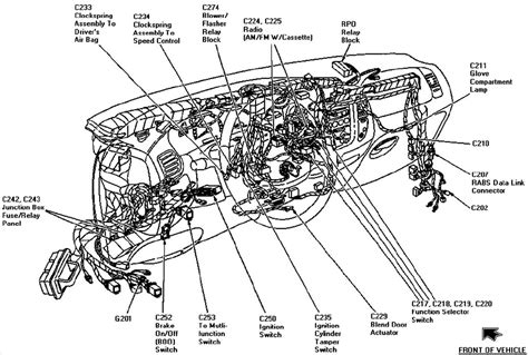 1998 Ford F 150 Part Diagram by Dashboard Reconstruction Ford F150 Forum