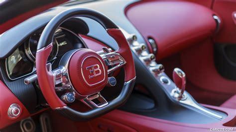 À ce jour, le constructeur n'a pas indiqué à combien d'exemplaires serait fabriquée cette bugatti chiron sport. 2017 Bugatti Chiron at The Quail - Interior, Steering Wheel   HD Wallpaper #98