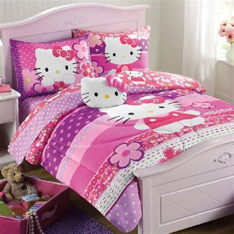lovely  kitty bedding sets home designing