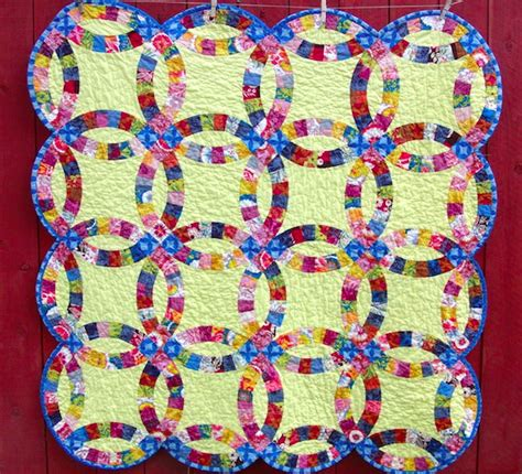 wedding ring quilt pattern strroy wedding ring quilt pattern
