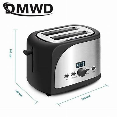 Toaster Sandwich Maker Timer Automatic Oven Bread