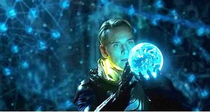 Prometheus David Sci Fi Giphy Animated Fassbender