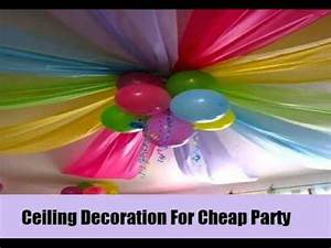 7 Unique And Cheap Party Decoration Ideas YouTube