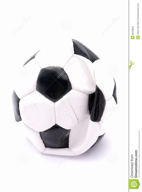 flat soccer ball stock images image