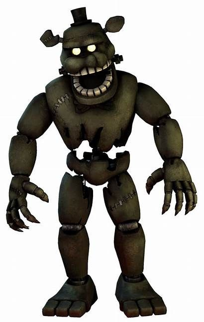 Fnaf Dreadbear Render Sfm Fullbody Hide