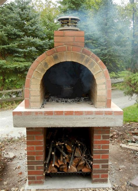 beautiful wood fired oven resides  northern