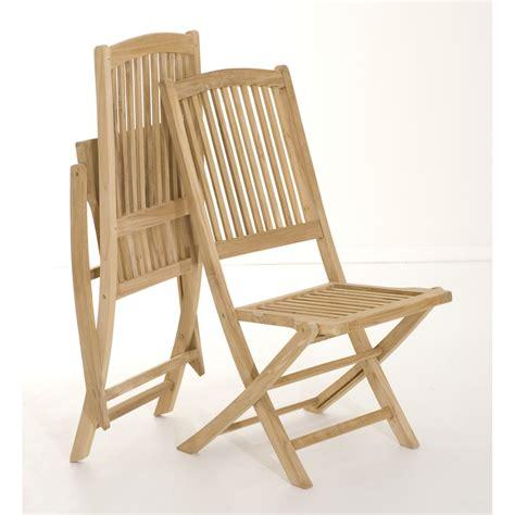 chaise de jardin en teck salon de jardin teck table 180x100cm 6 chaises summer