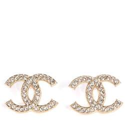 earring for men chanel cc earrings gold 75799