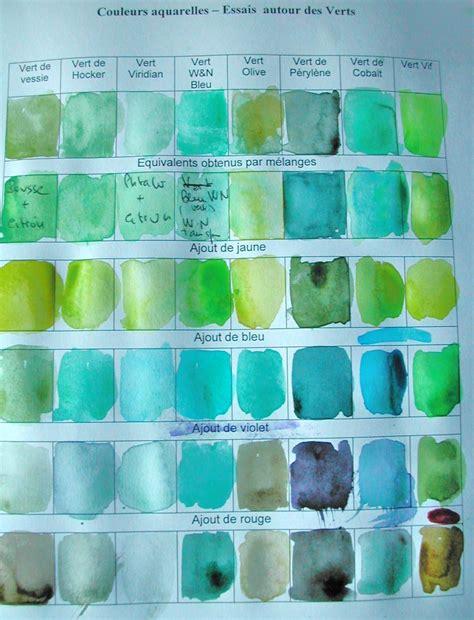 comment faire du gris comment obtenir de jolis verts en aquarelle m 233 langes ou verts du commerce paperblog