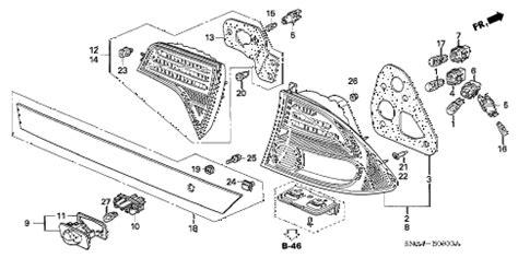 Honda Online Store Civic Taillight License Light