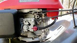 Honda Mower Problem