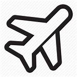 Icon Travel Air Icons Paper Line Iconfinder