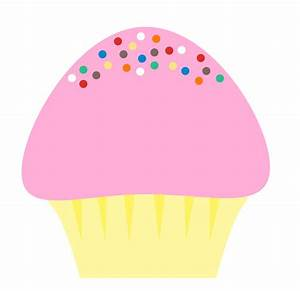 Cupcake With Sprinkles Clipart - Clipart Suggest