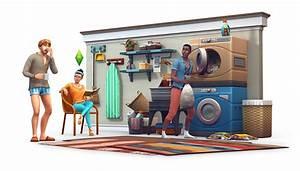 Kann Man Trockner Und Waschmaschine übereinander Stellen : die sims 4 waschtag accessoires angek ndigt simtimes ~ Michelbontemps.com Haus und Dekorationen