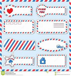 postal stickers vector royalty free stock images image With free postage stickers