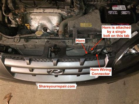 Horn Hyundai by 1999 2005 Hyundai Accent Horn Will Not Work Your
