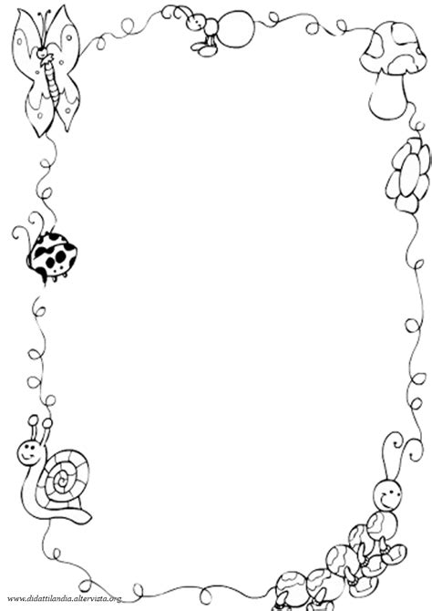 Disegni Di Cornici Per Bambini by Cornicette Di Pasqua Da Colorare Fotogallery Donnaclick