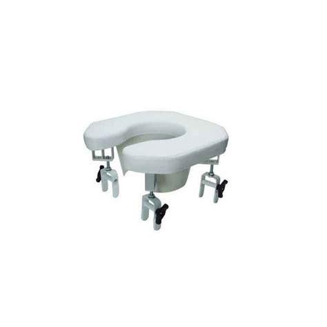 siege de toilette siège de toilette rembourré ouvert lumex la maison andré