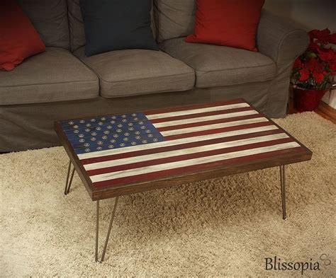 hair pin legs buy a custom flag coffee table made to order
