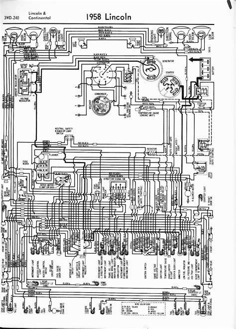 1959 Lincoln Wiring Diagram by Lincoln Wiring Diagrams 1957 1965