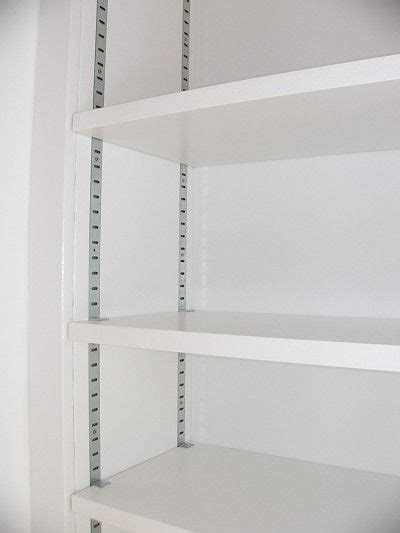 Bookcase Shelving Strips by Recessed Metal Shelving Strips Recessed Metal Bookcase