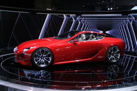 2012 Lexus Lflc Concept 2012 Detroit Show Video
