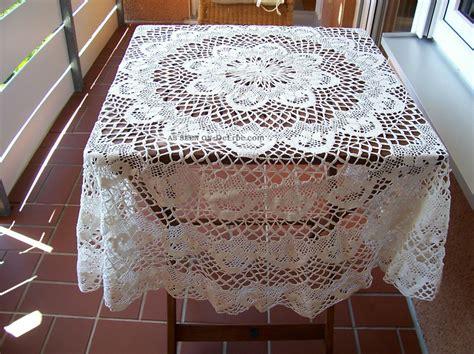 Tischdecke Rund 140 Baumwolle by Runde Alte Tischdecke Gekl 246 Pelt Handarbeit 140 Cm