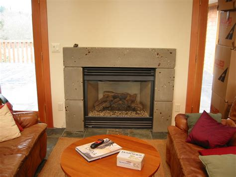 Residential Cabinets by Cast Concrete Fireplace Surround Home Construction