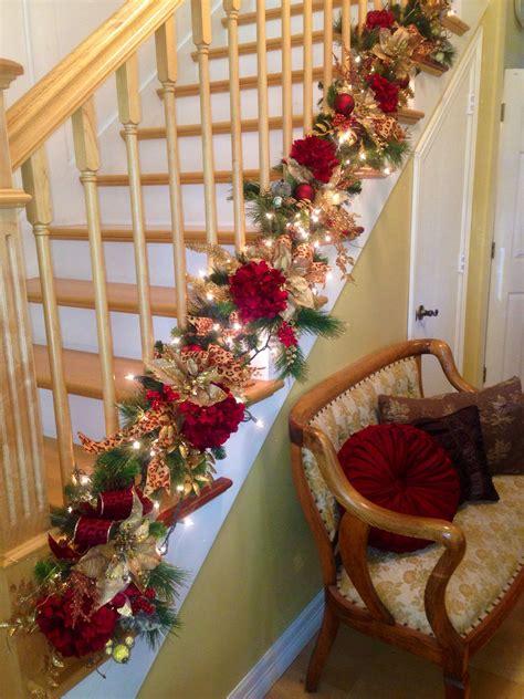 Treppe Weihnachtlich Dekorieren decorate the staircase for 45 beautiful ideas