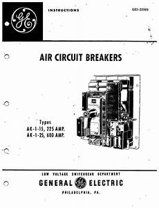 gei 23989 types 1 15225 amp ak 1 25600 amp manual With general electric relay manuals