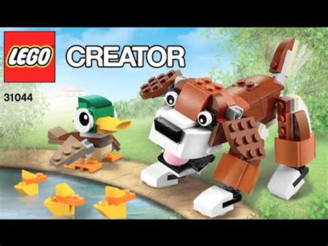 Creator Doc by How To Build Lego Creator 31044 Park Animals Mixed