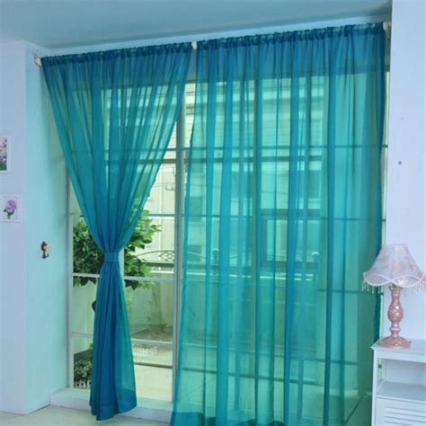 xm  colors string curtains door window panel curtain