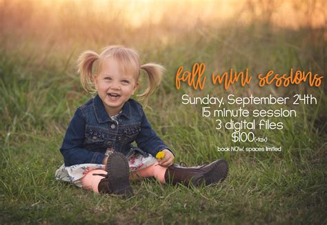 Fall Mini Sessions are LIVE! Booking NOW! - June Bug ...