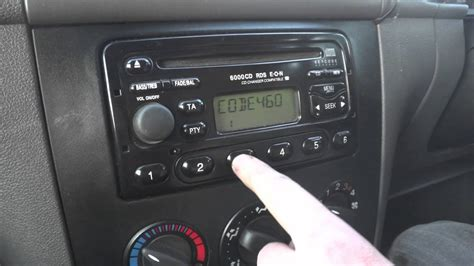 input radio code  ford radios youtube