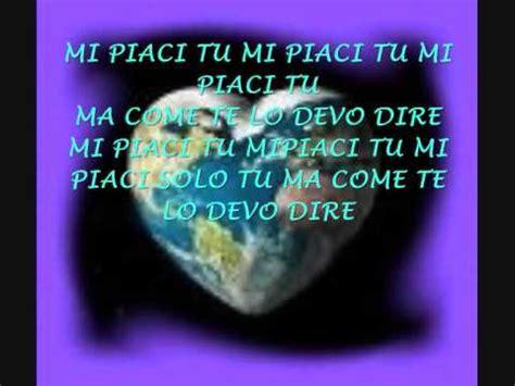 Vasco Mi Piaci Tu Testo by Vasco Mi Piaci Tu 0001