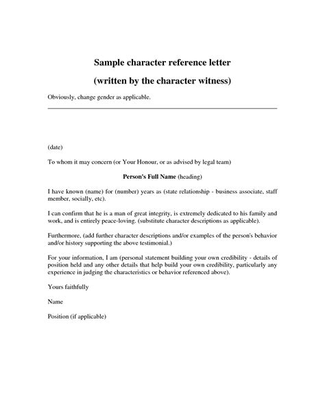 character letters  court templates google search