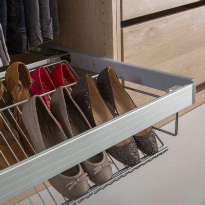 Tiroir Chaussures Coulissant Etagre Chaussures Porte Chaussure Acier Form Darwin 75 Cm Castorama