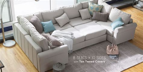 Pit Sofa Furniture by Convertible Pieces To Fit Any Room Sectional Sofa Pit
