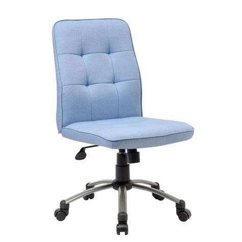 light blue desk chair modern office chair light blue bosschair