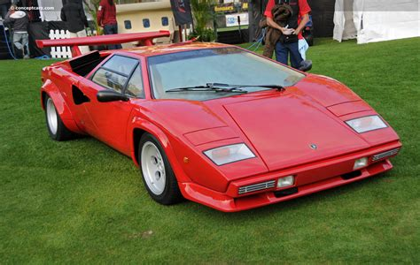 1985 Lamborghini Countach Image. Chassis number ...