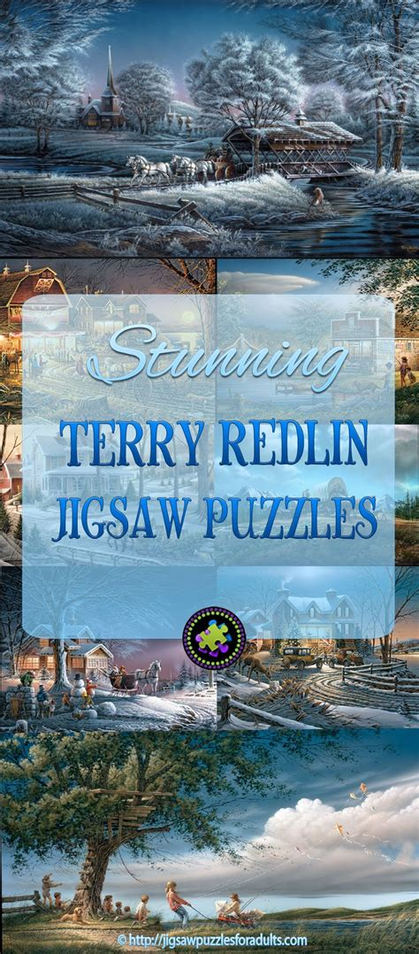 terry redlin puzzles absolutely stunning collection